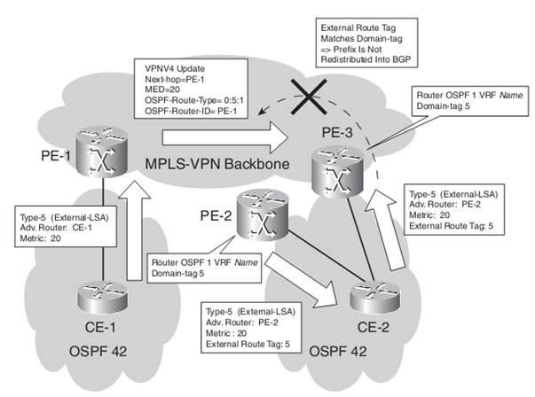 MPLS-VPN Backbone